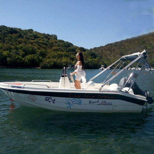 Rented boats with license Sivota