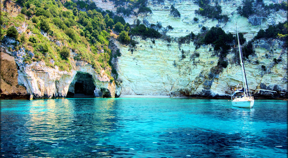 Daily Cruises in Paxous Rent A Boat Sivota
